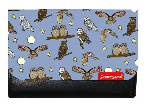 Selina-Jayne Owls Limited Edition Designer Small Purse